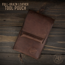 American Bonsai Full-Grain Leather Tool Pouch