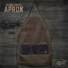 American Bonsai Waxed Canvas Apron