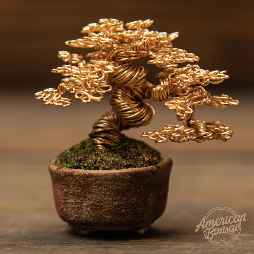 American Bonsai Ken To Wire Bonsai Tree Sculpture