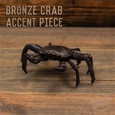 "American Bonsai Bronze ""Small Claw"" Crab Accent Piece"