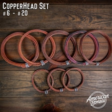American Bonsai Annealed Copper Bonsai Training Wire Set #6 - #20 (8pc)