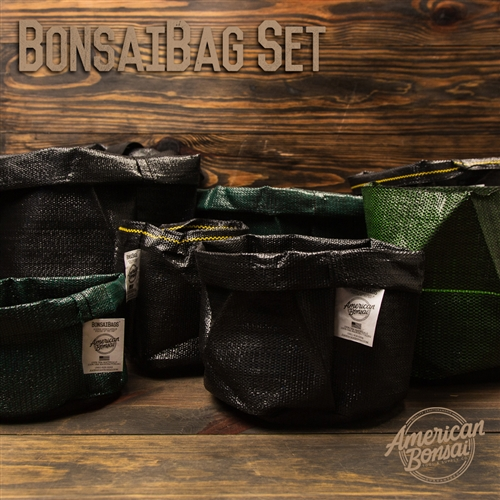 American Bonsai BonsaiBag Set of 12 (One of Each Size)
