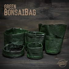 "American Bonsai Green BonsaiBags - 6"" x 6"""