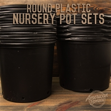 American Bonsai Plastic Nursery Pot Sets