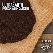 UltraCast Premium Grade Organic Worm Castings - 5 Gallon