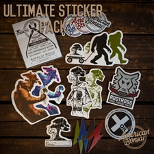 American Bonsai Ultimate Sticker Pack (17 Pcs)