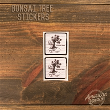 American Bonsai Tree Stickers