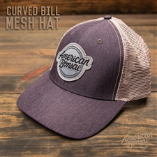 American Bonsai Mesh Hat Curved Bill: Heather Grey