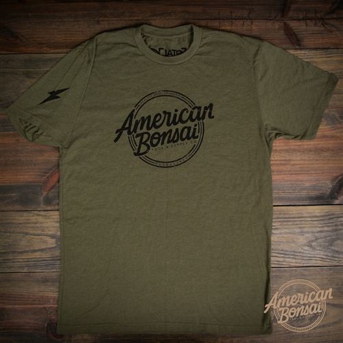 American Bonsai Black Logo T-Shirt