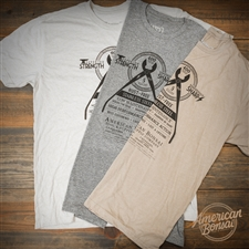 American Bonsai Stainless Steel II T-Shirt - Ash Grey