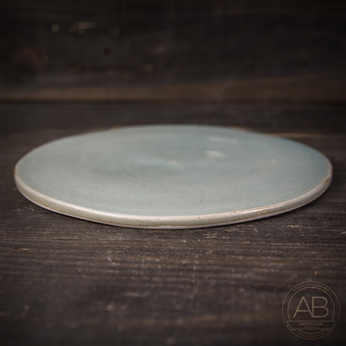 American Bonsai Clay Accent Plate: 8.75""
