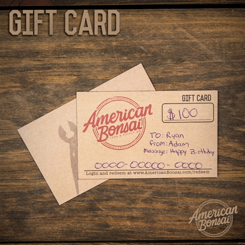 American Bonsai Gift Card