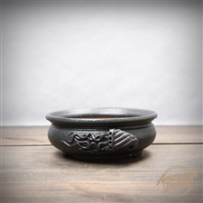 "Hand Thrown Bonsai Pot: 5.5"" x 2"""