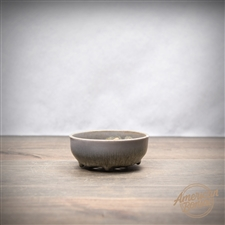 "Hand Thrown Bonsai Pot: 3.25"" x 1"""