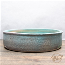 "Hand Thrown Bonsai Pot: 10"" x 2.5"""