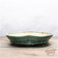 "Hand Made Bonsai Pot: 9"" x 9"" x 1.5"""