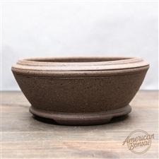 "Hand Made Bonsai Pot: 6.75"" x 2.5"""