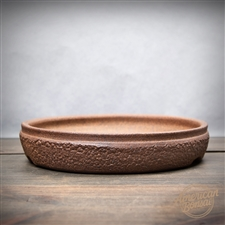 "Hand Thrown Bonsai Pot: 8.25"" x 1.25"""