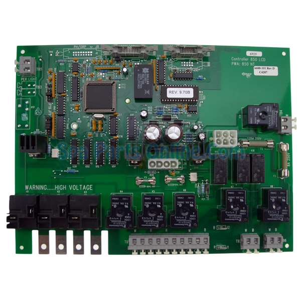 6600 101 jacuzzzi spa circuit board rh spapartsonline com