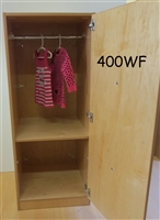 Children's Closet with Dressing Figure