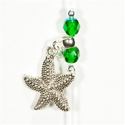 Starfish Wish in Envious Emerald