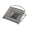 Laptop Stand - Black Onyx, Adjustable Steel Mesh