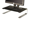 Redmond Monitor Stand, 14 5/8 x 11 x 4 1/4, Black/Gray/Silver