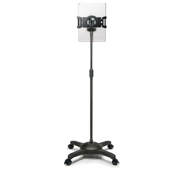 Ergo Floor Stand Artisan Designs : Universal tablet rolling floor stand for tablets up to inch