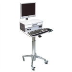 Monitor Cart with Medical Drawer