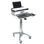 Laptop Cart with Medical Drawer