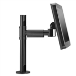 POS Mount (height adjustable) with Extension Arm for Monitors up to 22 lbs