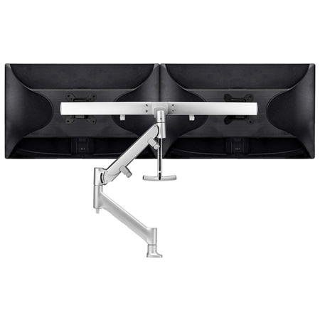 Heavy-Duty Dual Monitor Mount for screens up to 27 inch