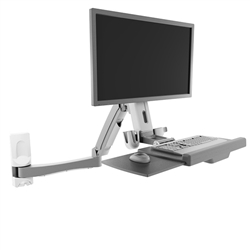 Sit Stand Wall Mount Workstation