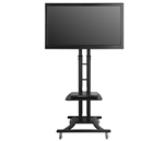 TELEHOOK TV Monitor Cart, Height Adjustable