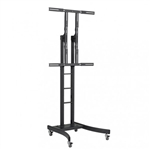 TELEHOOK Heavy Duty TV Monitor Cart, Height Adjustable