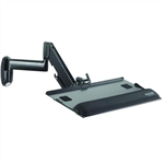 Wall Mount or Pole Mount Keyboard Tray