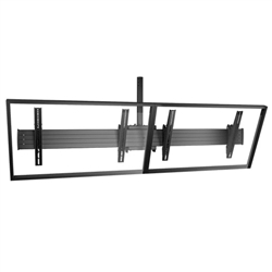 FUSION Large TV Ceiling Mount - 2 Monitor Video Wall Mount