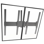 FUSION Dual Ceiling Mount (portrait) for Displays up to 125 lbs.