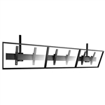 FUSION Large Triple TV Ceiling Mount