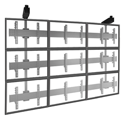 FUSION Large Multiple TV Ceiling Mount Video Wall