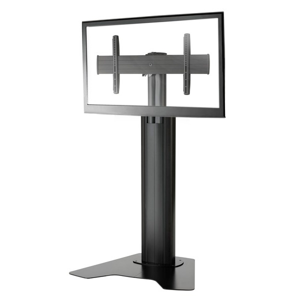 Fusion Large Lcd Floor Stand Height Adjustable For 40 To 80 Inch