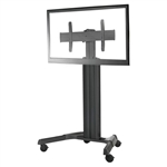 FUSION Monitor Cart Large TV Floor Stand