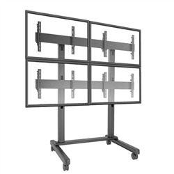 FUSION multiple monitor cart