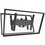 FUSION Dual Ceiling Mount (back to back) for 26 to 50 inch Screens up to 125 lbs.