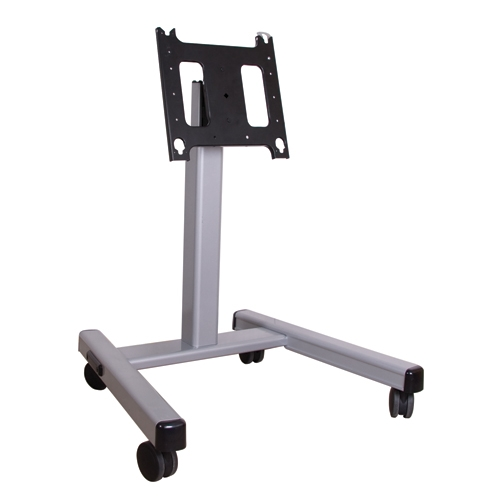 Monitor Cart And TV Floor Stand For 30 To 55 Inch Displays, Height  Adjustable From 3 To 4 Feet