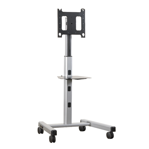 Monitor Cart And Tv Floor Stand For 42 To 71 Inch Displays Height Adjustable