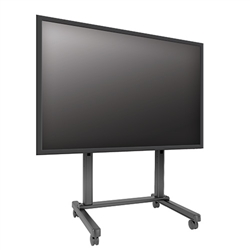 Extra Large Monitor Cart and Freestanding Video Wall Mount