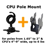 CPU VESA Mount for 1.65 to 2 inch Poles