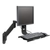 Desk Mount Sit Stand Workstation