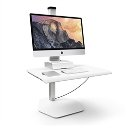 iMac Sit Stand Workstation